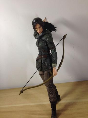 Play Arts Kai Rise Of The Tomb Raider - Original Figure