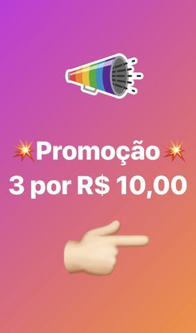 Promoção 3 canetas kawaii pr R$ 10
