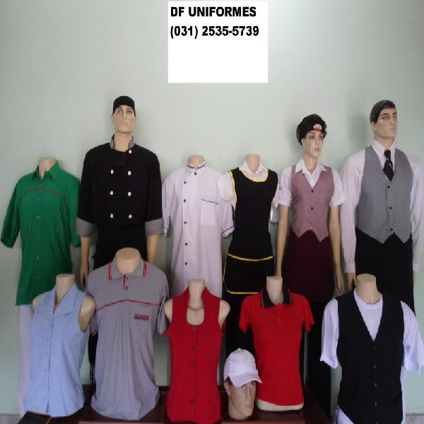 uniformes para hotel em BH