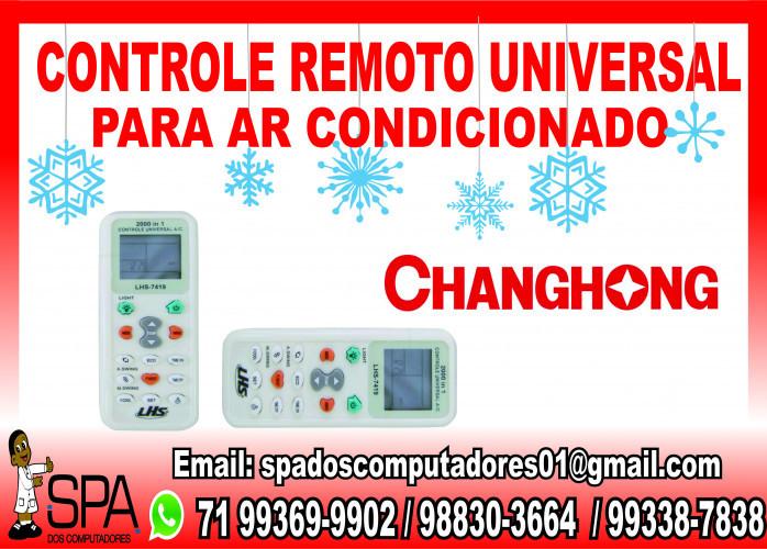 Controle Remoto Universal para Ar Condicionado ChangHong em