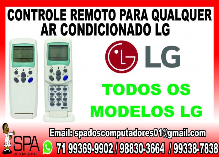Controle Remoto para Ar Condicionado LG em Salvador Ba