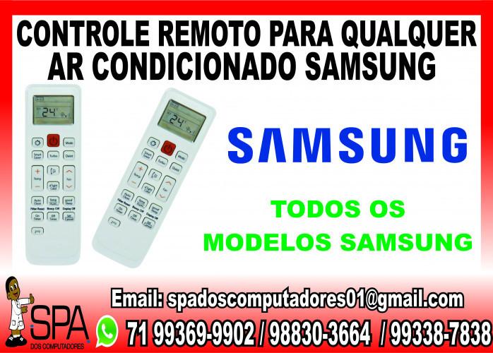 Controle Remoto para Ar Condicionado Samsung em Salvador Ba