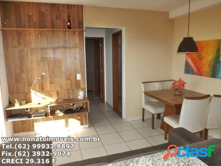 Lindo apartamento 57m² 2 Quartos sendo 1 Suite
