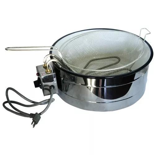 Fritadeira Elétrica Industrial 7 Litros Com Termostato 220v