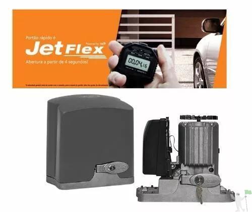 Kit motor de portão PPA Jet FLEX 1/4 HP F: