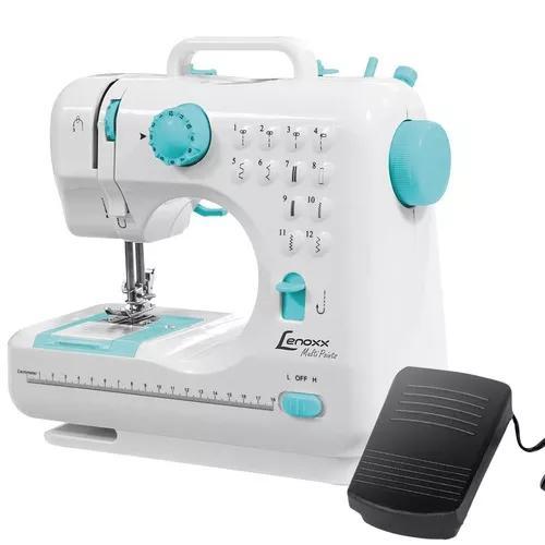 Máquina De Costura Elétrica Portátil Psm101 12 Pontos