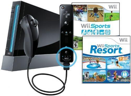 Nintendo Wii + Mario Kart (com volante), Super Smash Bros