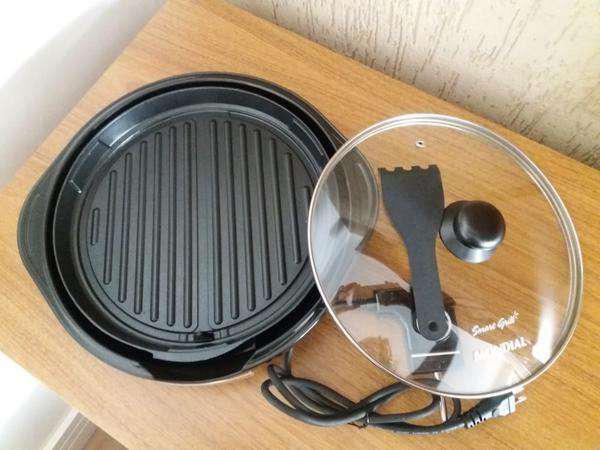 Smart Grill Mondial G-04 - Usado Uma Única Vez