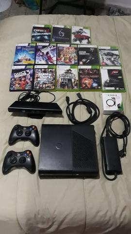 Xbox 360 completo com jogos originais