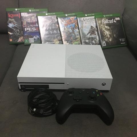Xbox One S + Jogos Com nota fiscal