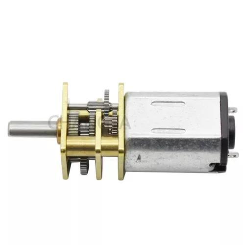 4 Un Mini Motor Redução Dc 12v N20 300rpm Arduino 4un