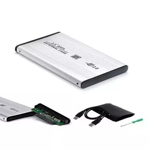 Case Gaveta Hd Sata Notebook Usb Externa Pc Xbox Ps3 Nin Wii