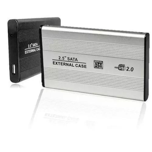 Case Hd Externo 2,5 Sata Notebook Usb 2.0 Gaveta Aluminio