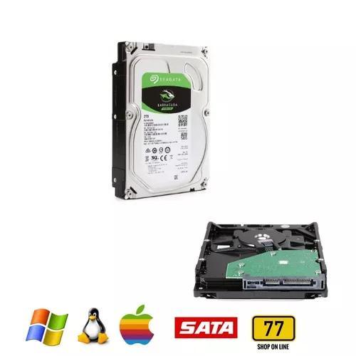 Disco Rigido 2 Terabytes Seagate 3,5 Pc Dvr 7200 Rpm
