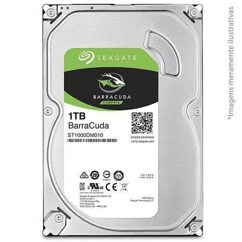 Hd Interno Seagate Barracuda 1tb Sata 3 7200rpm 64mb Desktop