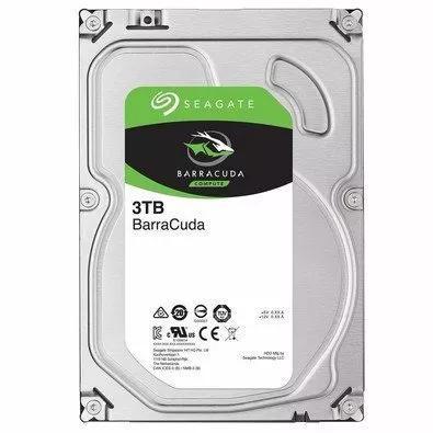 Hd Seagate Desktop 3tb 3000gb 64mb Sata3 6gb/s 7200 Rpm