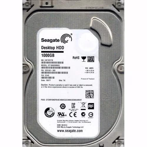 Hd Seagate Hdd Desktop 1tb 1000gb 64mb Sata3 6gb/s Pc / Dvr