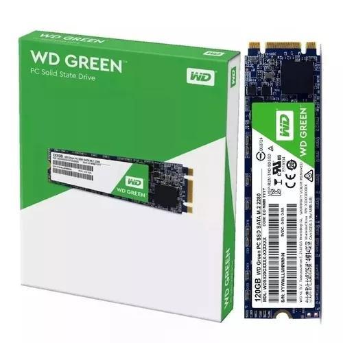 Hd Ssd M.2 M2 Sata Wd Green 120gb 8821 Western Digital