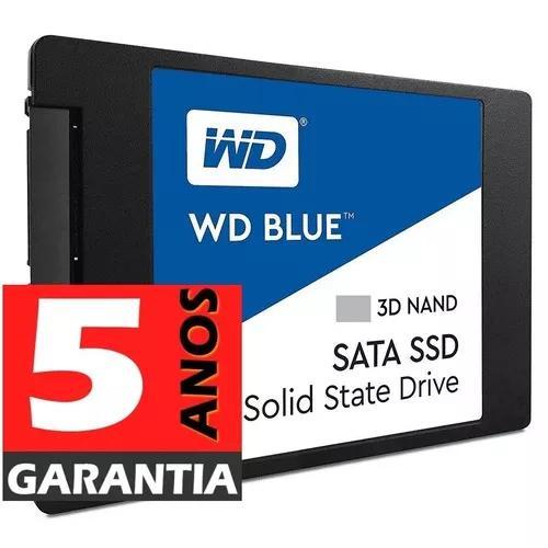 Ssd 2tb Wd Blue Sata3 Nova Versão 3d Nand - Gar 5 Anos -