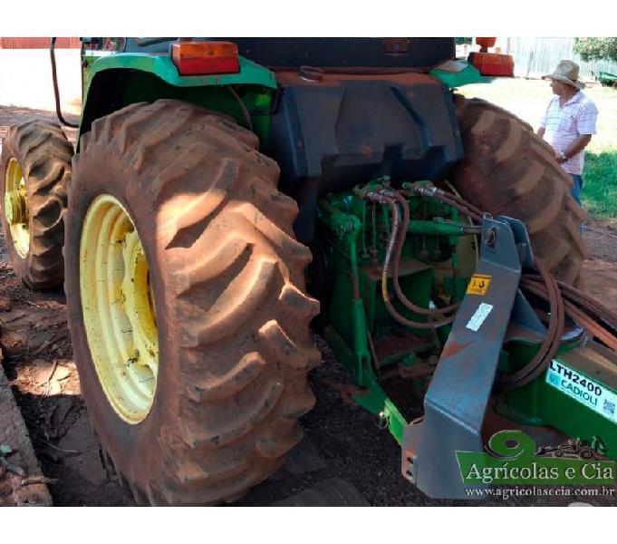 Trator John Deere 5705 4x4 (Único Dono - Cabine Com Ar!)