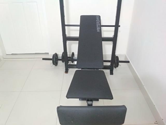 Aparelho de Musculação Polimet Completo