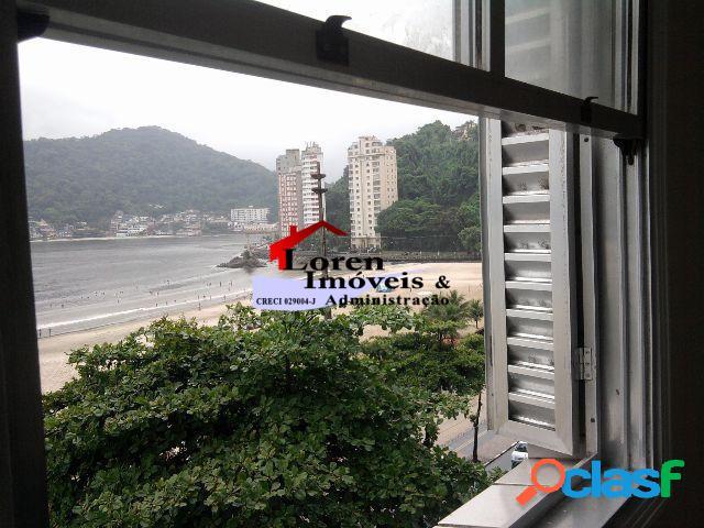 Apartamento 1 dormitório mobiliado com vista para o mar!