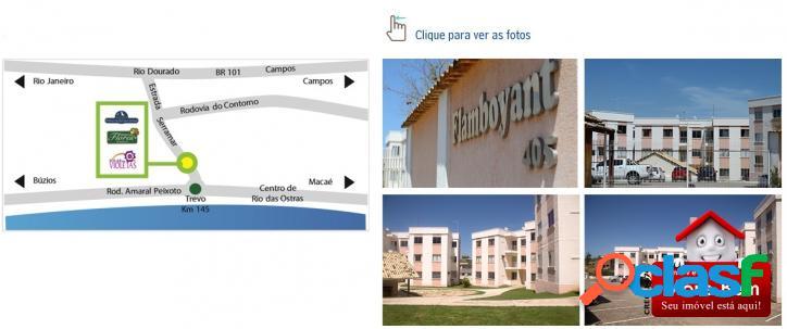 Apartamento 2 Quartos em Rio das Ostras