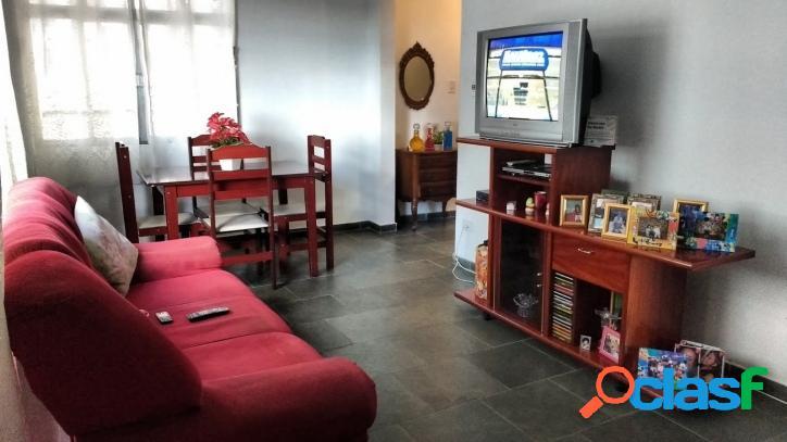 Apartamento 2 dormitórios Vista Total Para o Mar Santos!