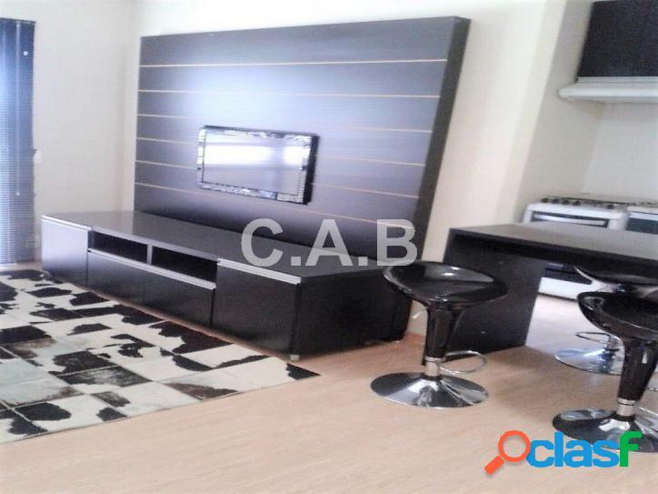 Apartamento Mobiliado no Edifício Fatto Alphaville-3