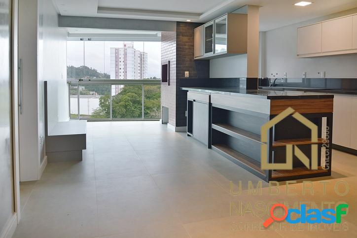 Apartamento Novo Semi Mobiliado Bairro Velha Blumenau