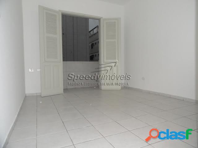 Apartamento com 1 dormitório em Santos, Boqueirão.