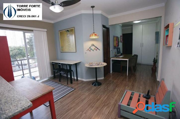 Apartamento com 2 dormitórios Vila Pompéia. 02 vagas