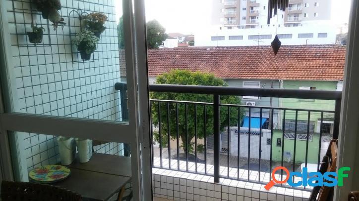 Apartamento em Santos, 2 dormitórios, no Macuco