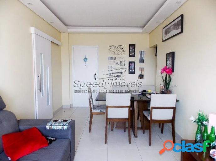 Apartamento em Santos, Embaré - 2 dormitórios.