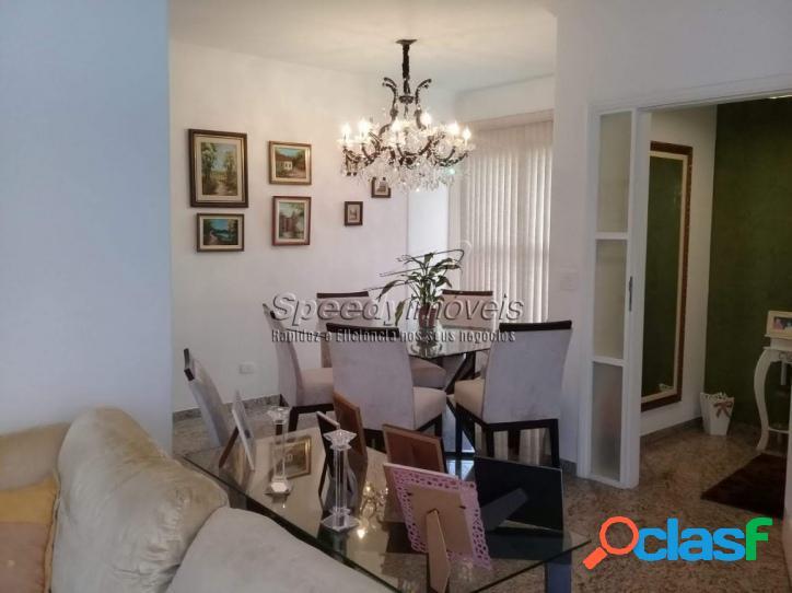 Apartamento em Santos, Embaré, 3 dormitórios.