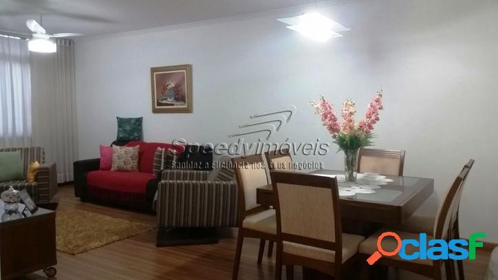 Apartamento em Santos com 3 dormitórios no Boqueirão