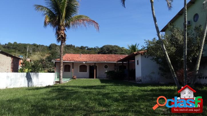 CS-1148 - Casa com excelente terreno, Balneário das Conchas