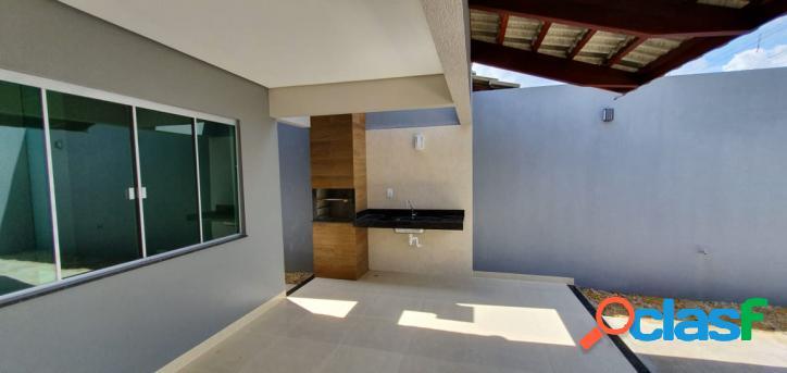 Casa a venda em Palmas, 3 suítes, 103m², R$ 300 mil
