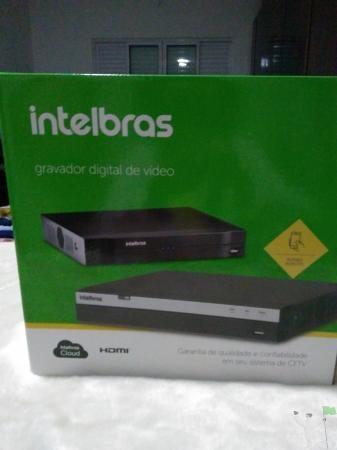 DVR Intelbras mod. para 4 cameras