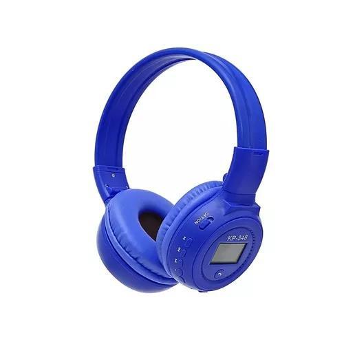 Fone De Ouvido S/ Fio Visor Mp3 Radio Fm Bluetooth Micro Sd