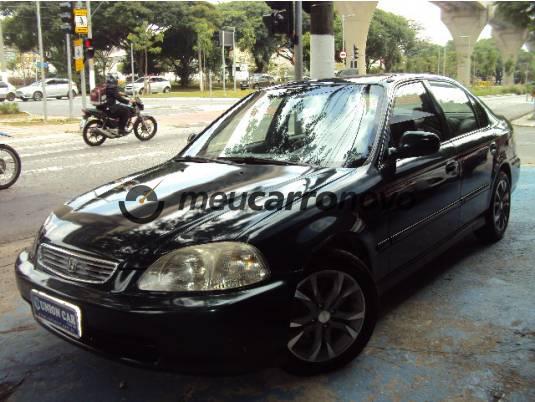 HONDA CIVIC SEDAN EX 1.6 16V AUT. 4P (NACION.) 1998/1998