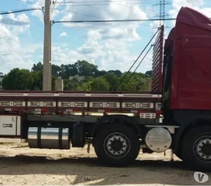 Scania P-310,ano:16,vermelho,bi-truck