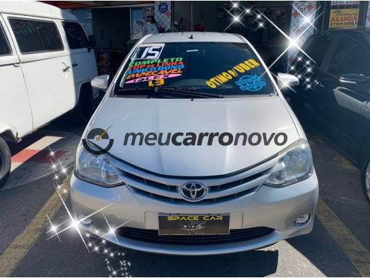 TOYOTA ETIOS X 1.3 FLEX 16V 5P MEC. 2015/2015