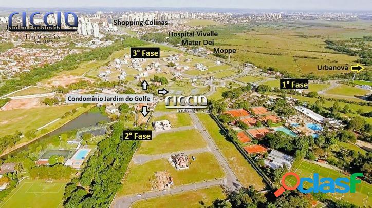 Terreno Plano 450 m² Jardim do Golfe - 3° Fase - Quadra 06