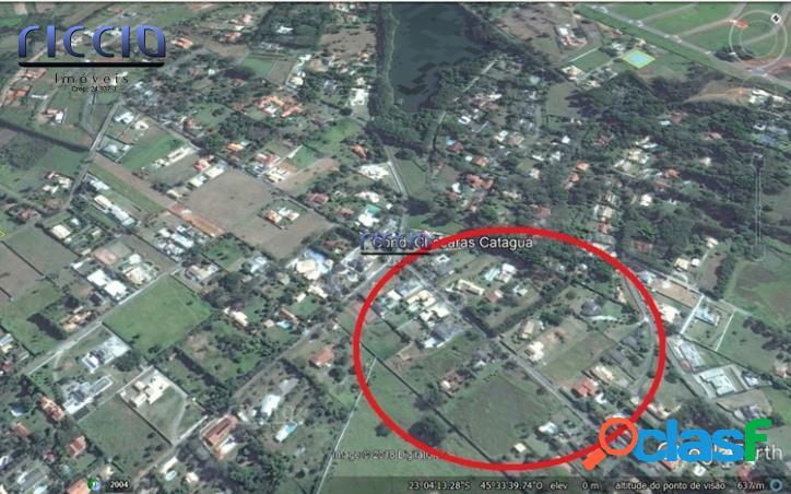 Terreno em Condomínio Chácaras Cataguá Taubaté 8.000 m²