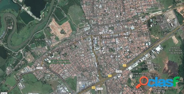 Terreno plano em Caçapava, Região Central, 2000 m2
