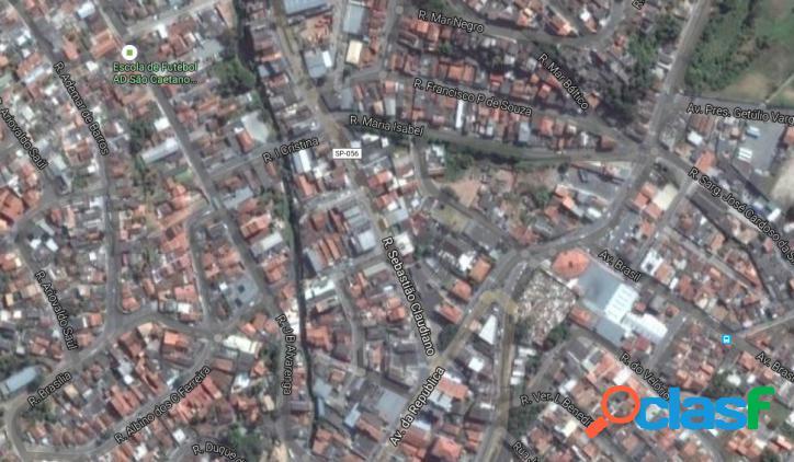 Terreno plano no Centro de Santa Isabel, SP, 1.200m2