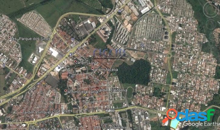 Área 12.700 m² Av. Eixo Rio-São Paulo em Jacareí - SP