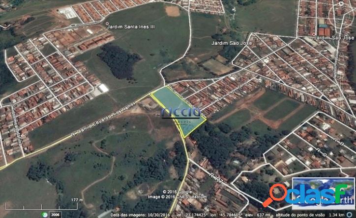 Área 16.000 m² no bairro Jardim São José em SJC