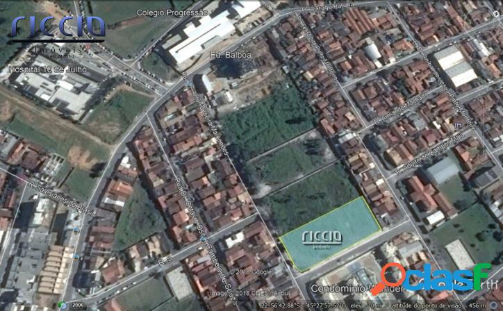 Área 4.000 m² ESQUINA Ótima p/ Prédio